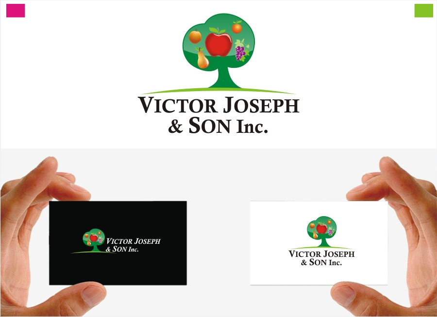 Logo Design by Private User - Entry No. 255 in the Logo Design Contest Imaginative Logo Design for Victor Joseph & Son, Inc..