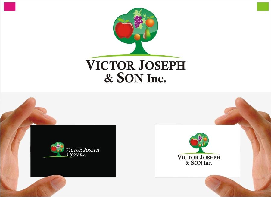 Logo Design by Private User - Entry No. 256 in the Logo Design Contest Imaginative Logo Design for Victor Joseph & Son, Inc..