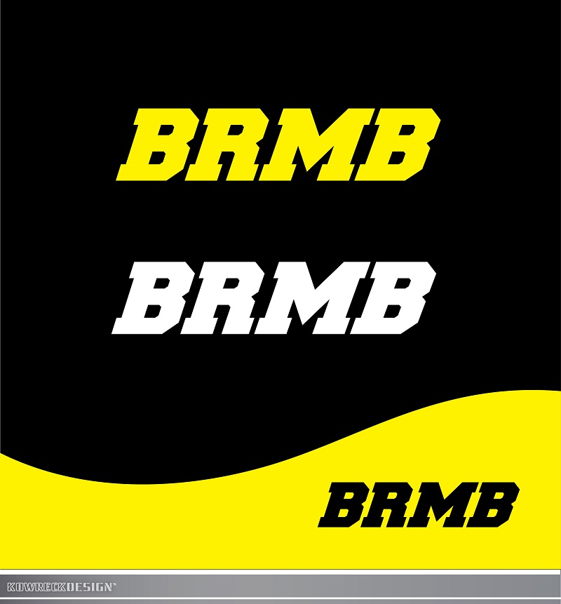 Logo Design by kowreck - Entry No. 169 in the Logo Design Contest Fun Logo Design for BRMB.