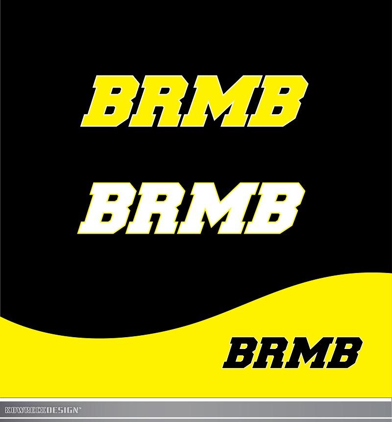 Logo Design by kowreck - Entry No. 171 in the Logo Design Contest Fun Logo Design for BRMB.