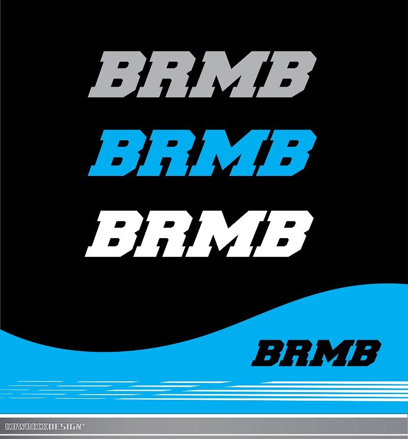 Logo Design by kowreck - Entry No. 173 in the Logo Design Contest Fun Logo Design for BRMB.