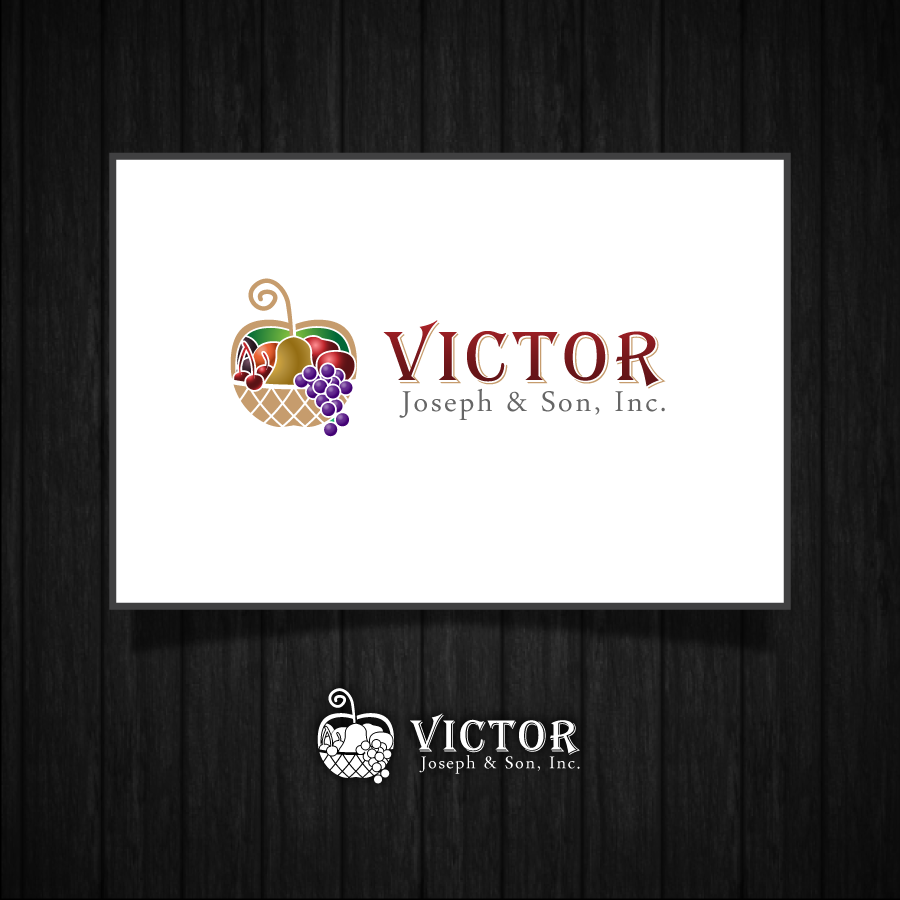 Logo Design by zesthar - Entry No. 257 in the Logo Design Contest Imaginative Logo Design for Victor Joseph & Son, Inc..