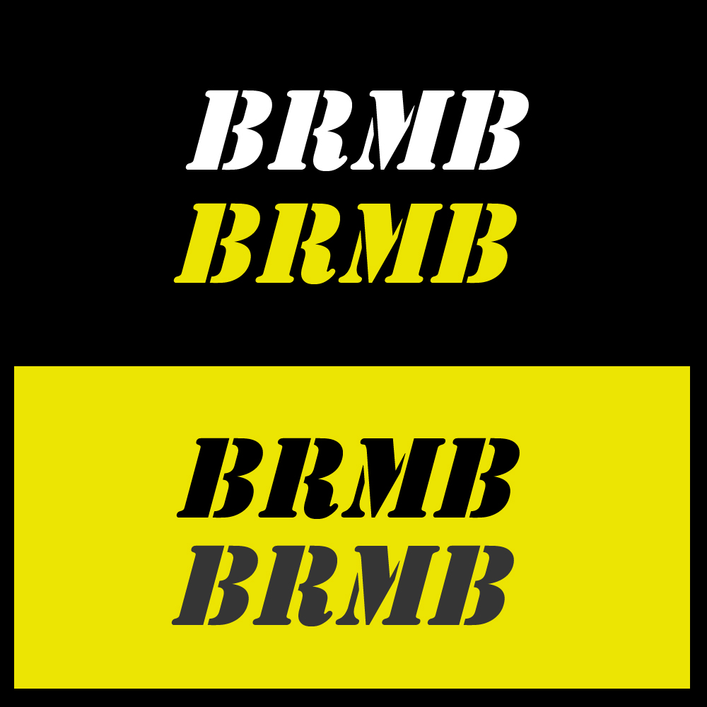 Logo Design by omARTist - Entry No. 174 in the Logo Design Contest Fun Logo Design for BRMB.