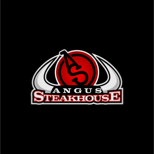 Logo Design by Private User - Entry No. 26 in the Logo Design Contest Imaginative Custom Design for Angus Steakhouse.