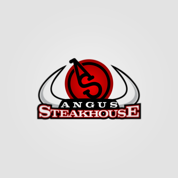 Logo Design by Private User - Entry No. 27 in the Logo Design Contest Imaginative Custom Design for Angus Steakhouse.