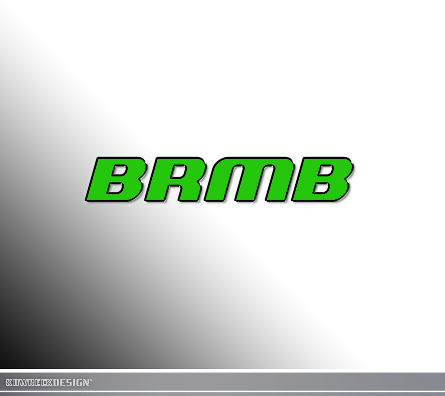 Logo Design by kowreck - Entry No. 178 in the Logo Design Contest Fun Logo Design for BRMB.