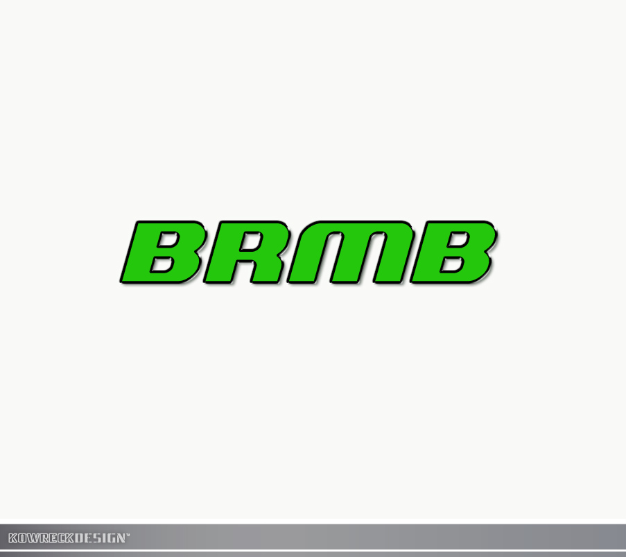 Logo Design by kowreck - Entry No. 179 in the Logo Design Contest Fun Logo Design for BRMB.