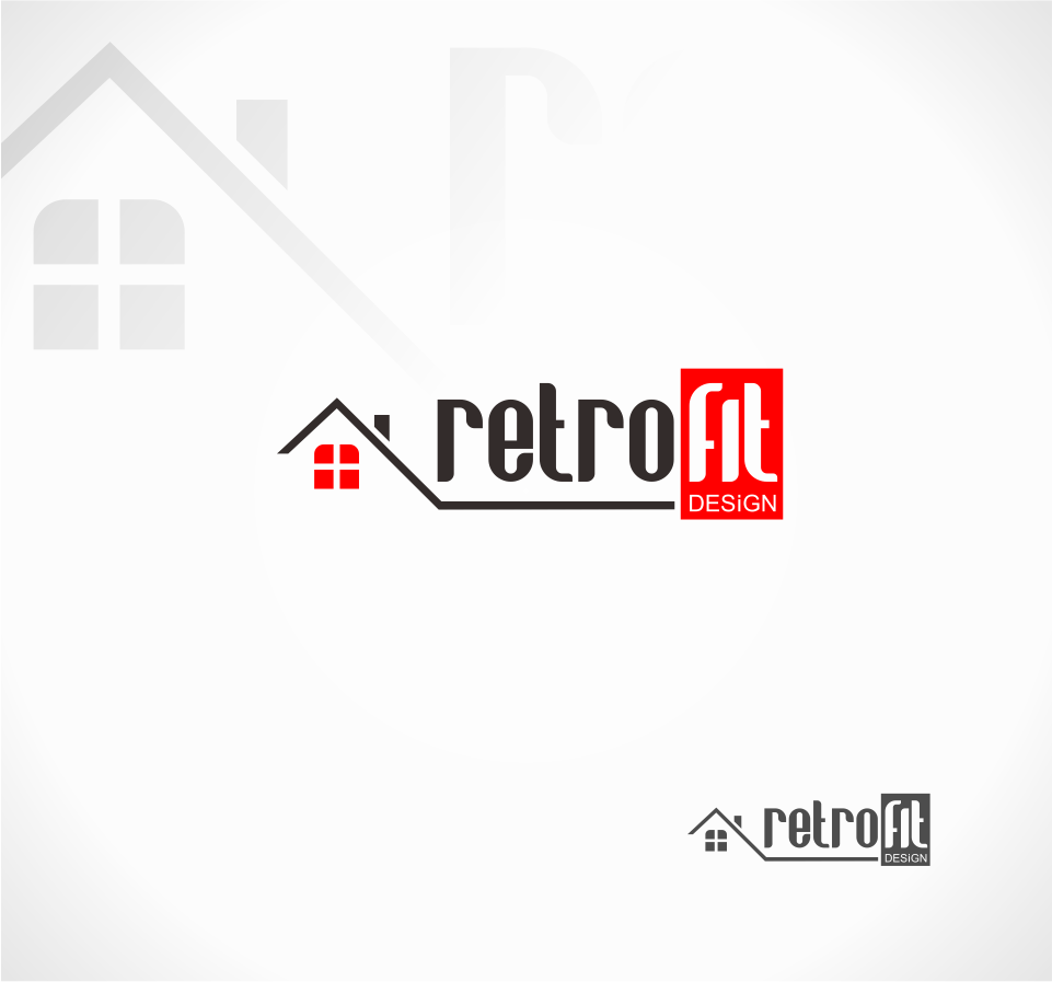 Logo Design by Mitchnick Sunardi - Entry No. 114 in the Logo Design Contest Inspiring Logo Design for retrofit design.