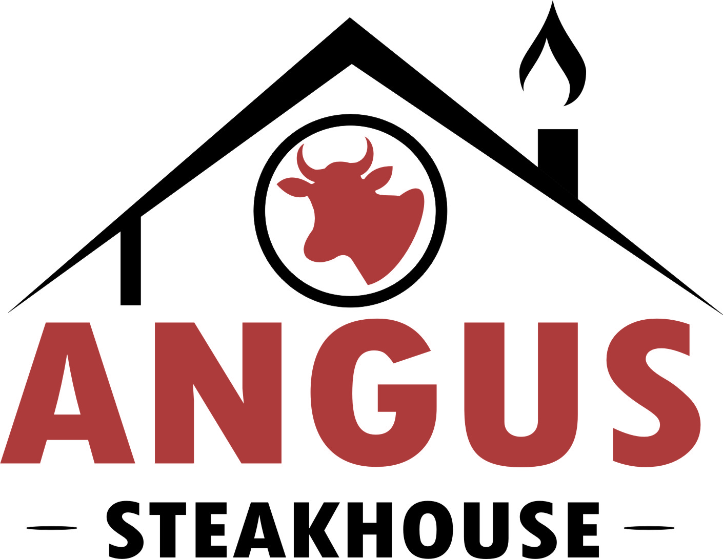 Logo Design by Ngepet_art - Entry No. 39 in the Logo Design Contest Imaginative Custom Design for Angus Steakhouse.