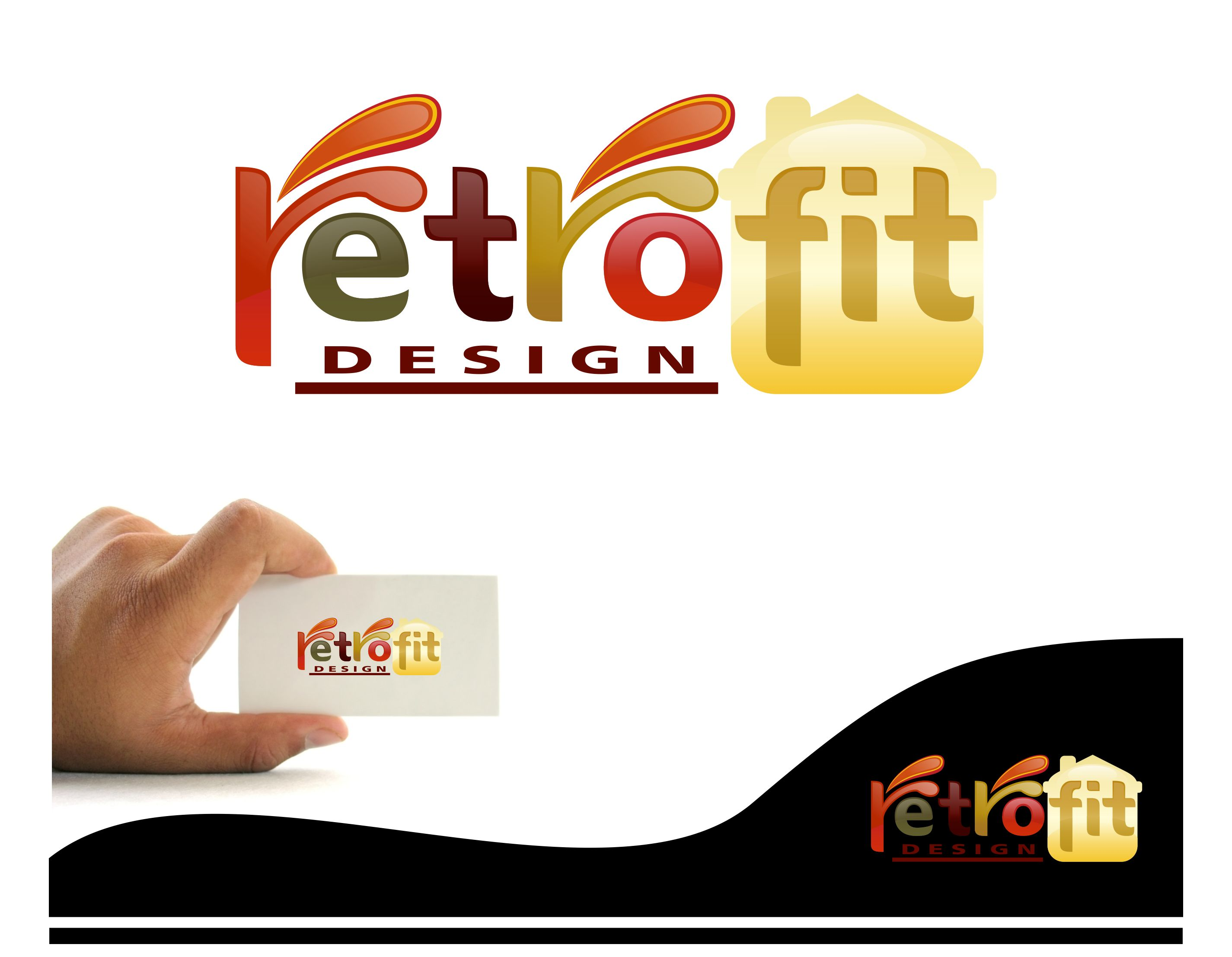 Logo Design by joca - Entry No. 117 in the Logo Design Contest Inspiring Logo Design for retrofit design.