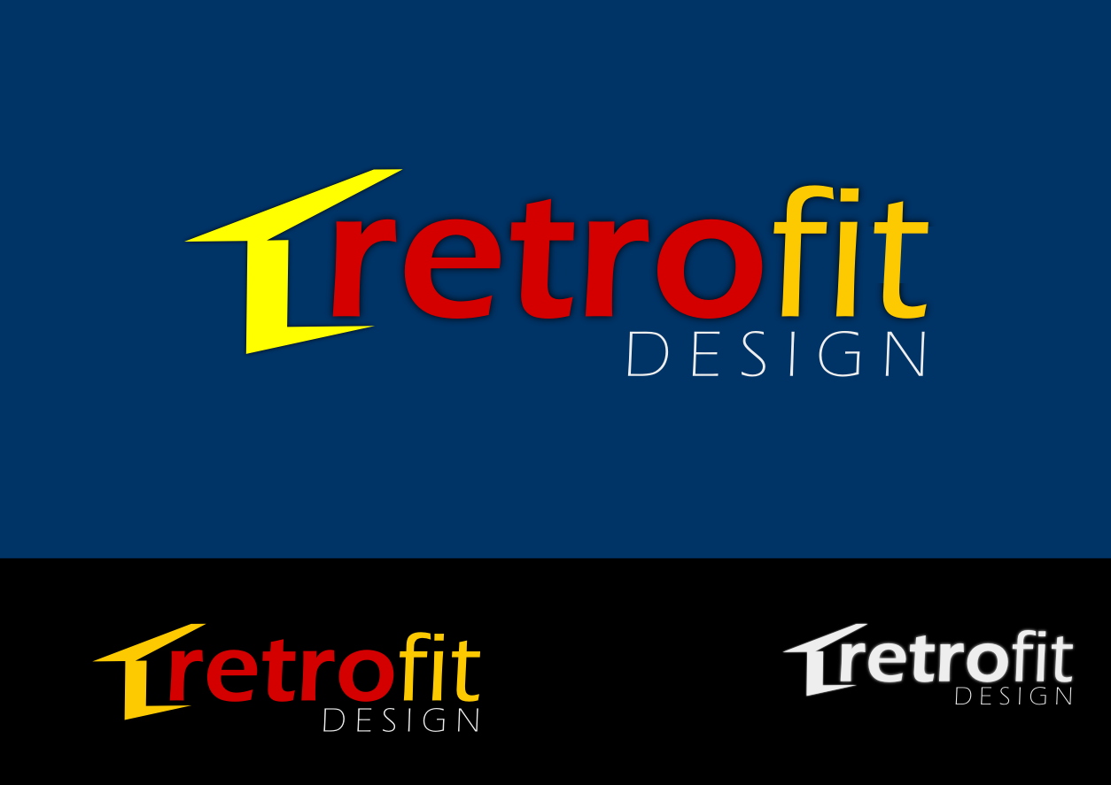 Logo Design by whoosef - Entry No. 134 in the Logo Design Contest Inspiring Logo Design for retrofit design.