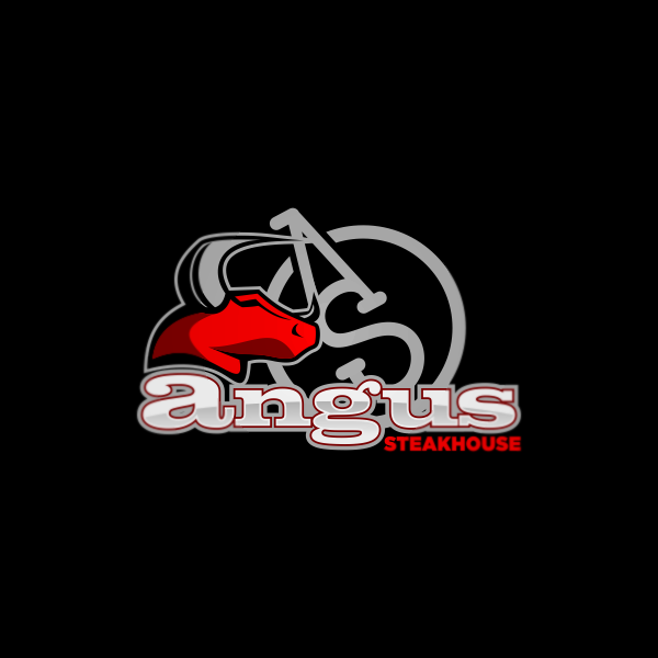 Logo Design by Private User - Entry No. 58 in the Logo Design Contest Imaginative Custom Design for Angus Steakhouse.