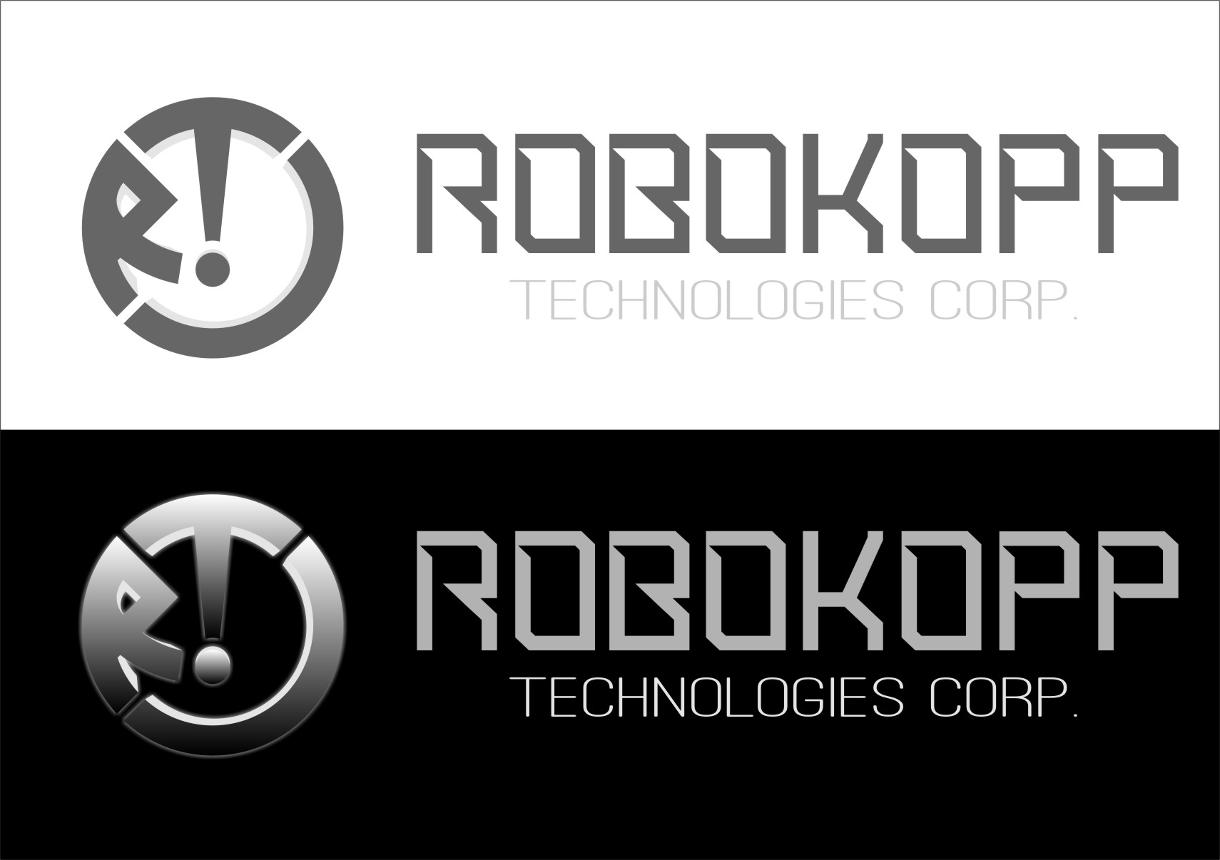 Logo Design by Ngepet_art - Entry No. 14 in the Logo Design Contest New Logo Design for Robokopp Technologies Corp..