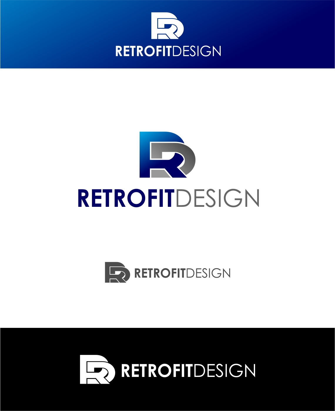 Logo Design by haidu - Entry No. 157 in the Logo Design Contest Inspiring Logo Design for retrofit design.