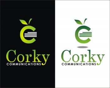 Logo Design by b49us - Entry No. 150 in the Logo Design Contest Corky Communications.