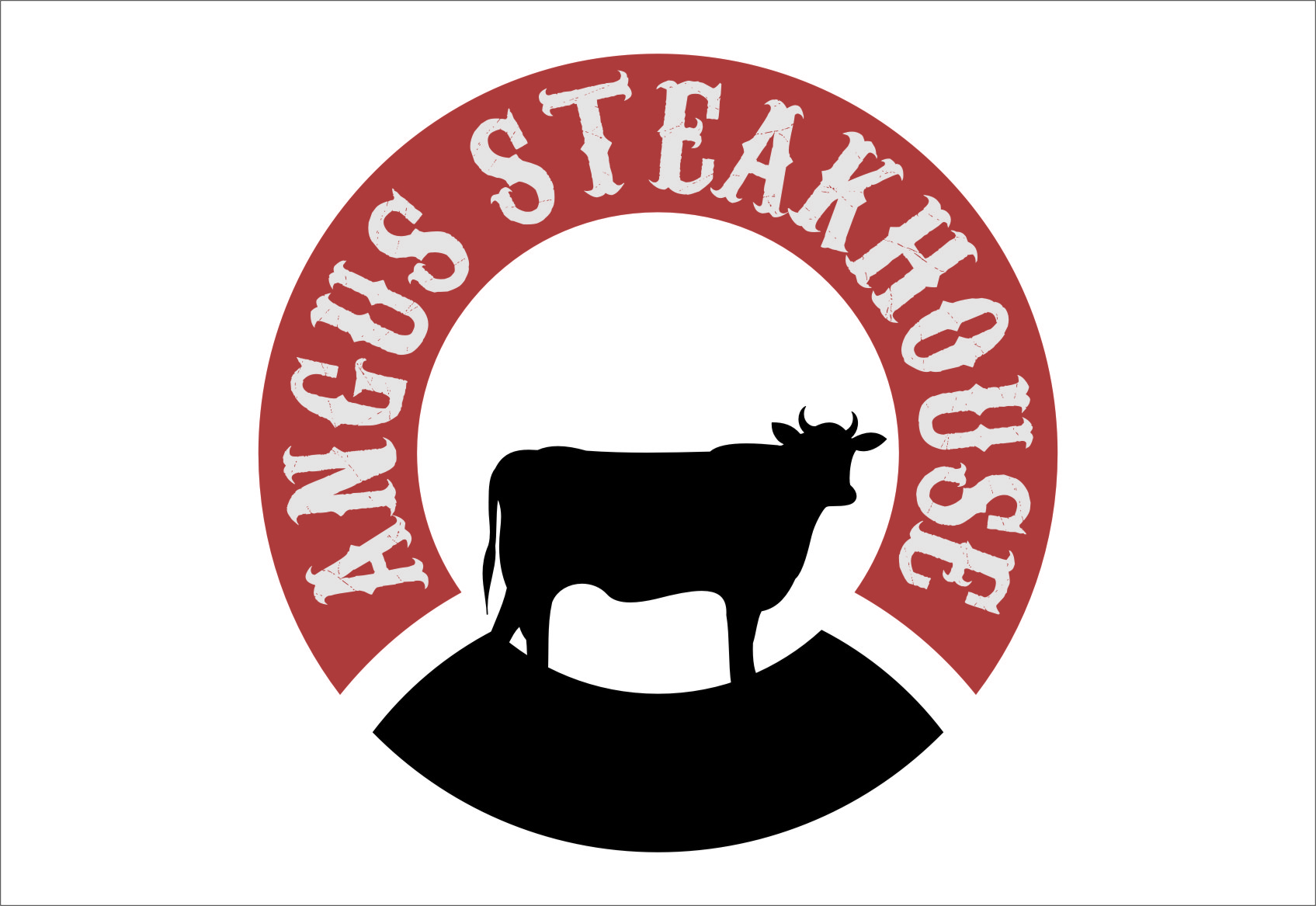 Logo Design by RasYa Muhammad Athaya - Entry No. 70 in the Logo Design Contest Imaginative Custom Design for Angus Steakhouse.