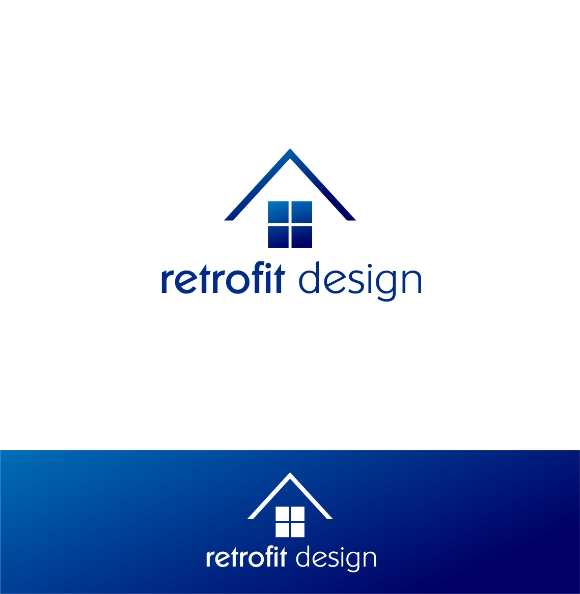 Logo Design by haidu - Entry No. 173 in the Logo Design Contest Inspiring Logo Design for retrofit design.