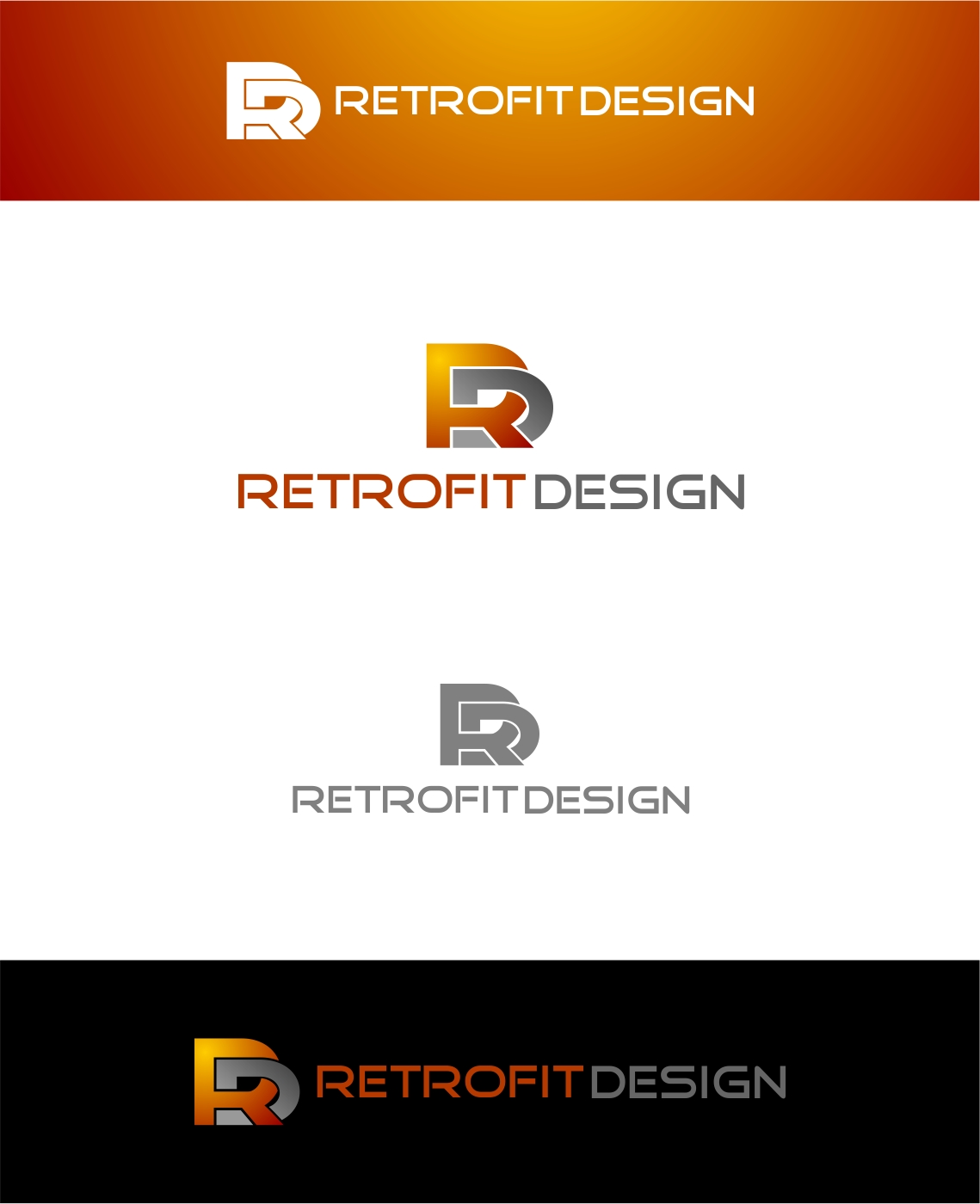 Logo Design by haidu - Entry No. 175 in the Logo Design Contest Inspiring Logo Design for retrofit design.