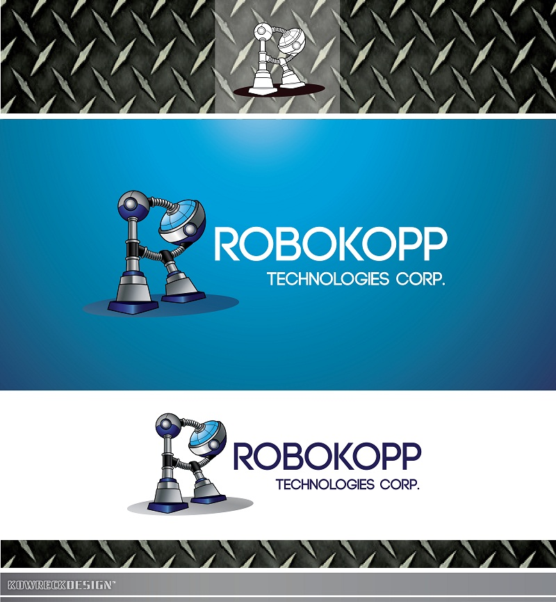 Logo Design by kowreck - Entry No. 19 in the Logo Design Contest New Logo Design for Robokopp Technologies Corp..
