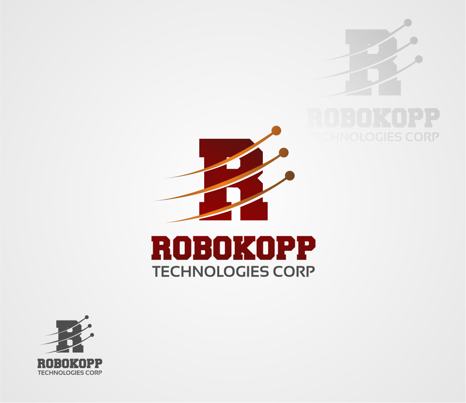 Logo Design by Mitchnick Sunardi - Entry No. 22 in the Logo Design Contest New Logo Design for Robokopp Technologies Corp..