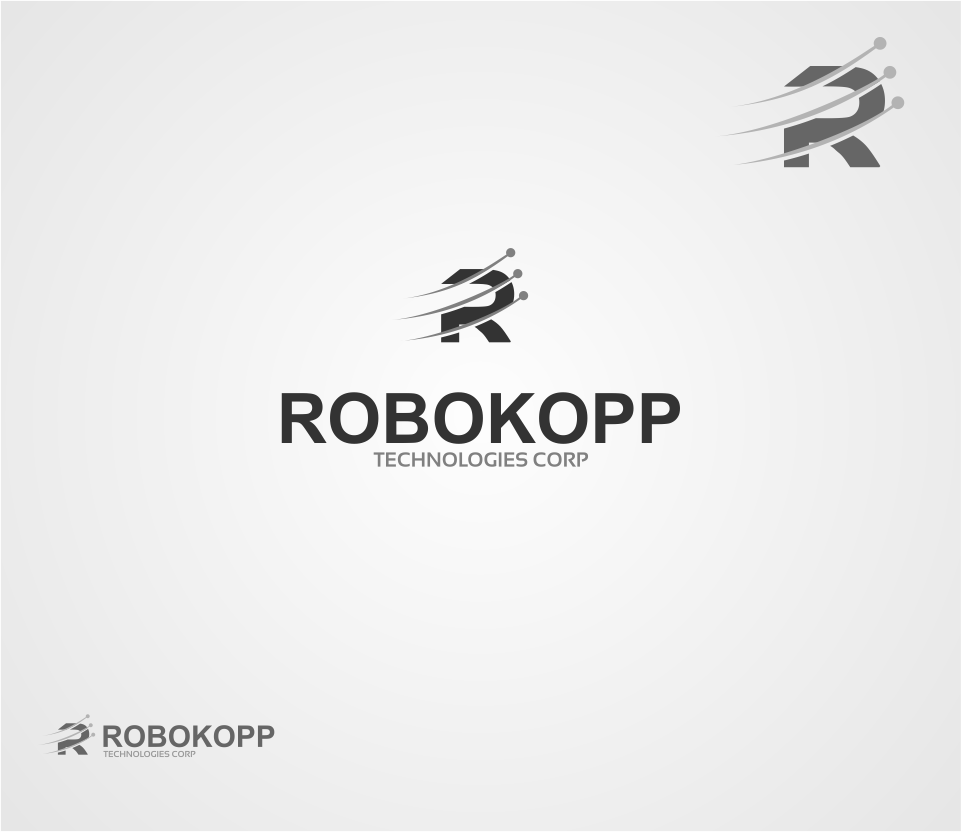 Logo Design by Mitchnick Sunardi - Entry No. 25 in the Logo Design Contest New Logo Design for Robokopp Technologies Corp..
