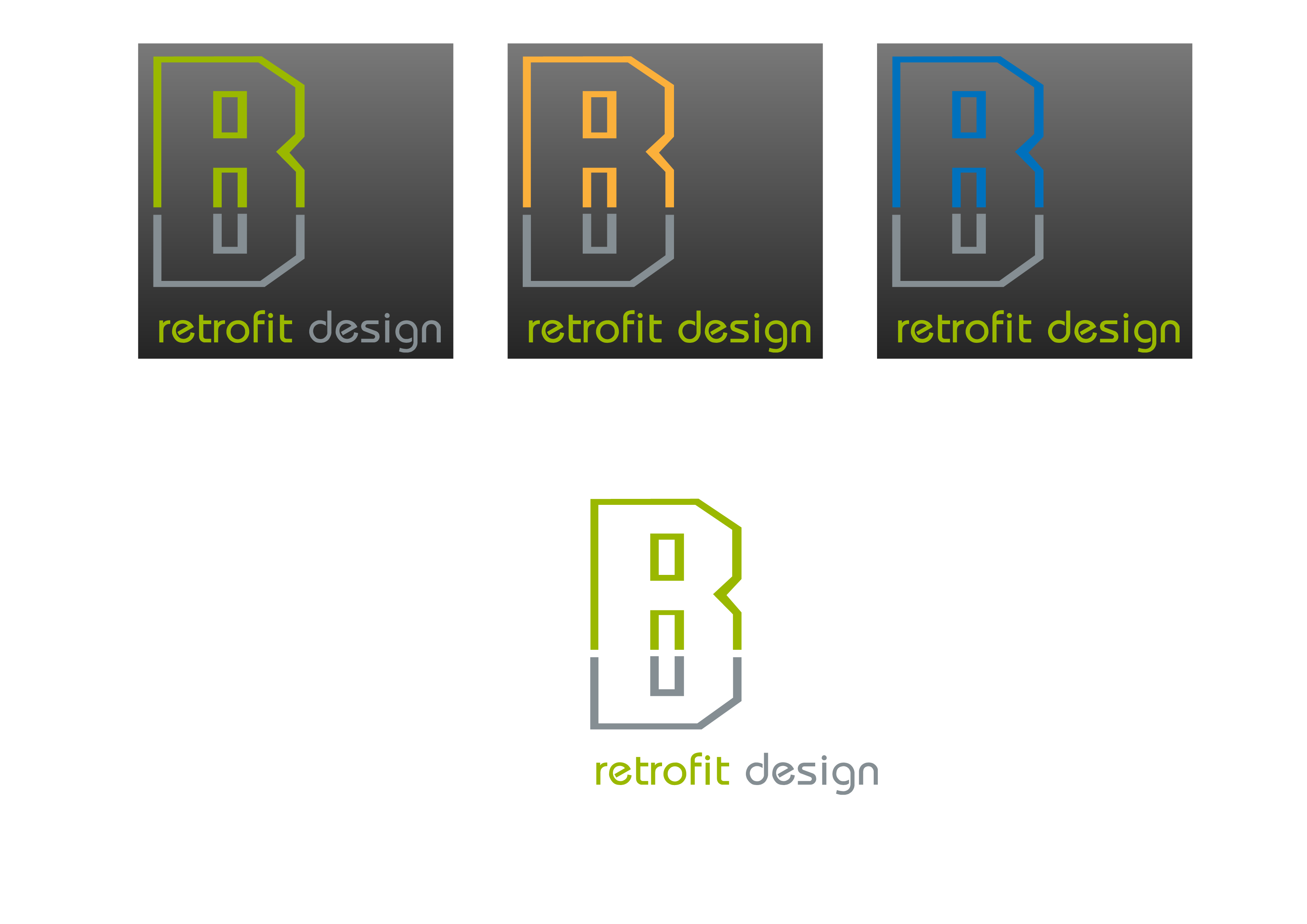 Logo Design by 3draw - Entry No. 178 in the Logo Design Contest Inspiring Logo Design for retrofit design.