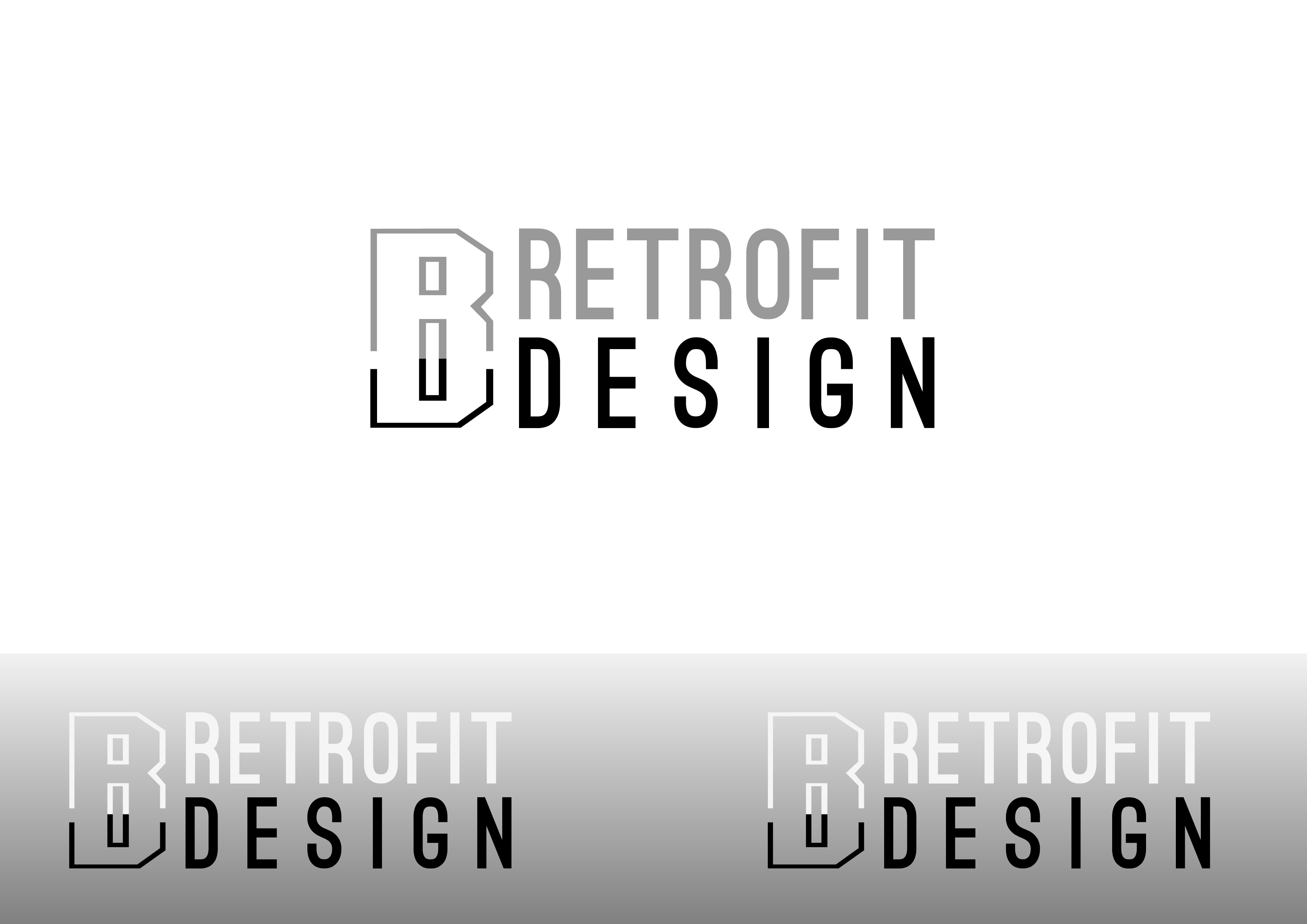 Logo Design by 3draw - Entry No. 179 in the Logo Design Contest Inspiring Logo Design for retrofit design.