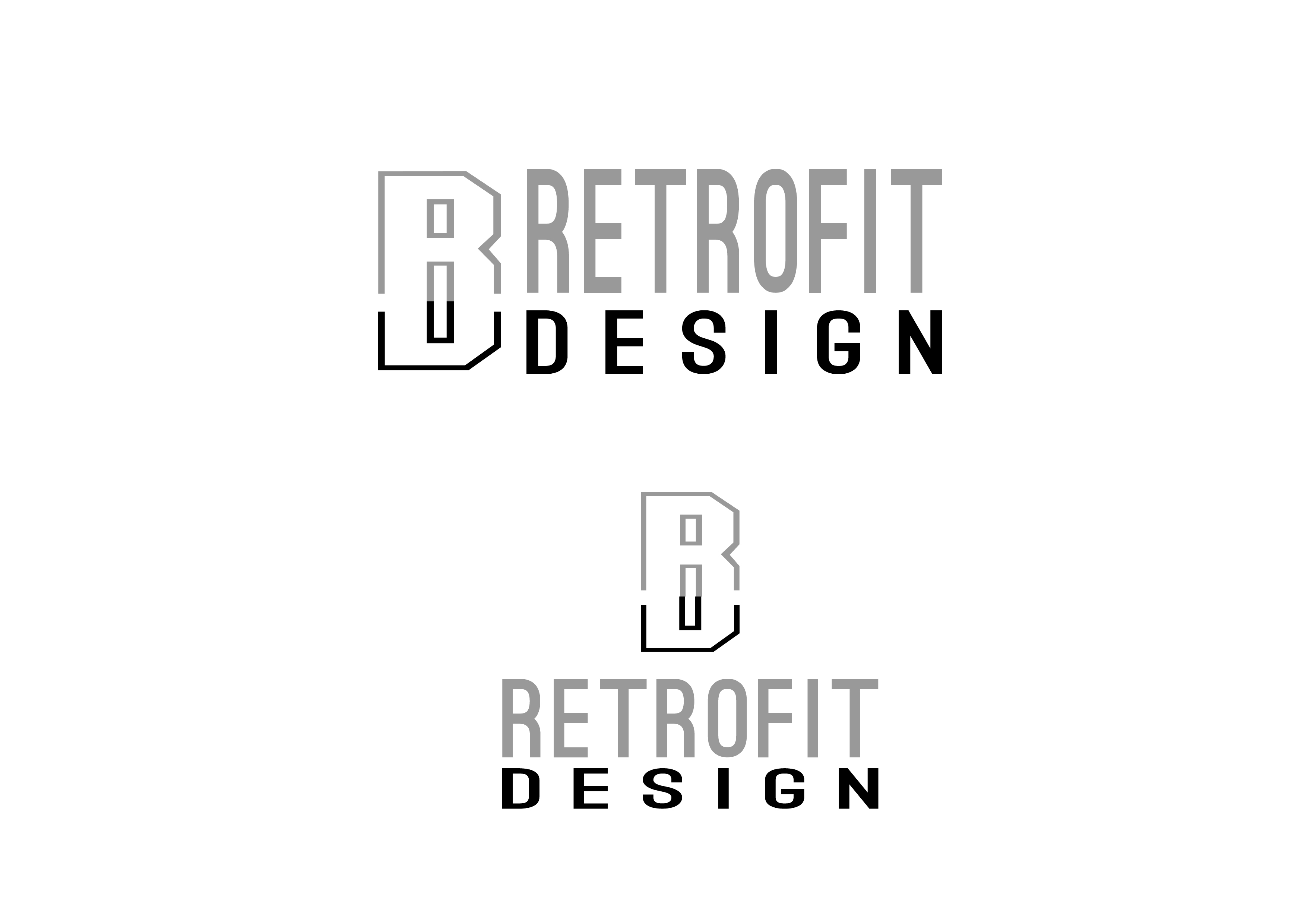 Logo Design by 3draw - Entry No. 180 in the Logo Design Contest Inspiring Logo Design for retrofit design.