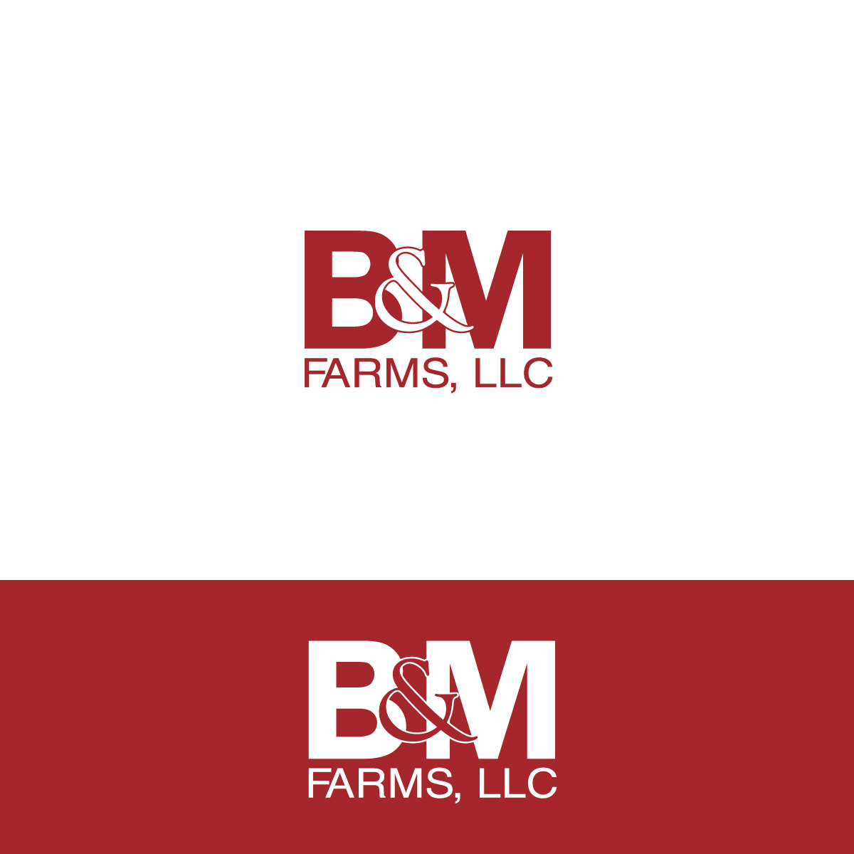 Logo Design by rockin - Entry No. 1 in the Logo Design Contest Creative Logo Design for B & M Farms, LLC.