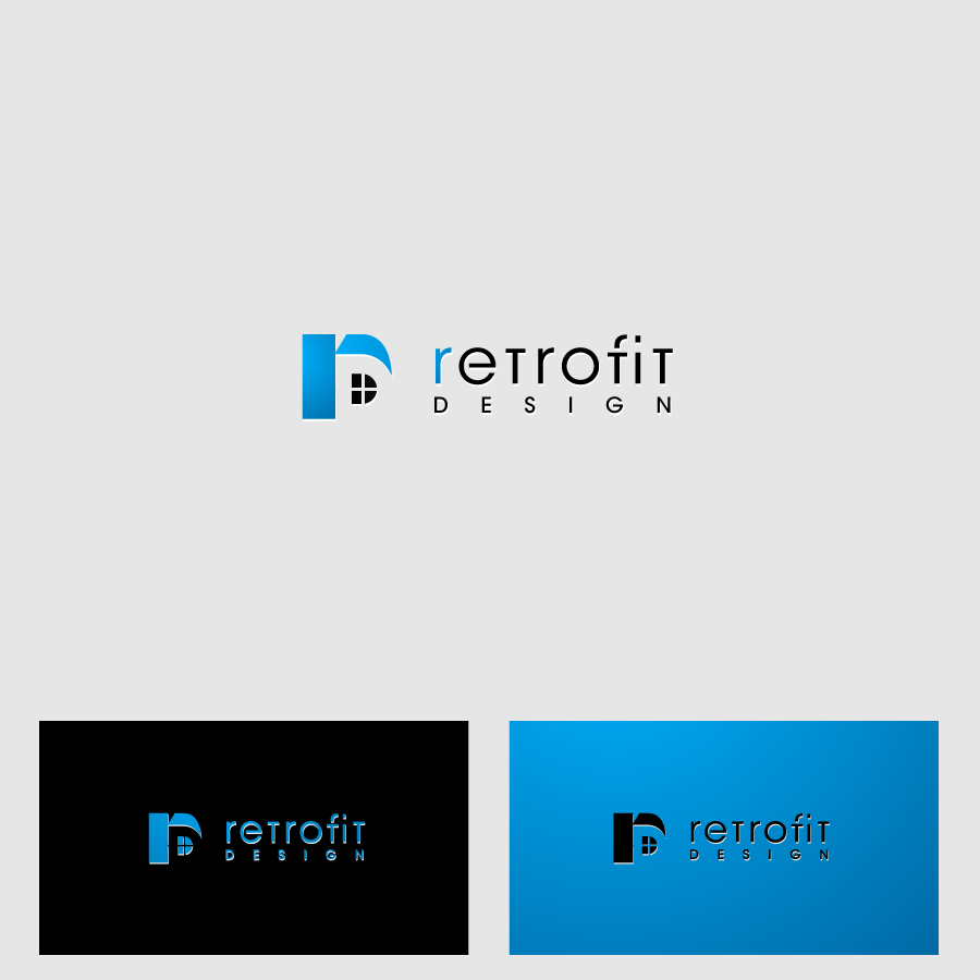 Logo Design by zesthar - Entry No. 184 in the Logo Design Contest Inspiring Logo Design for retrofit design.