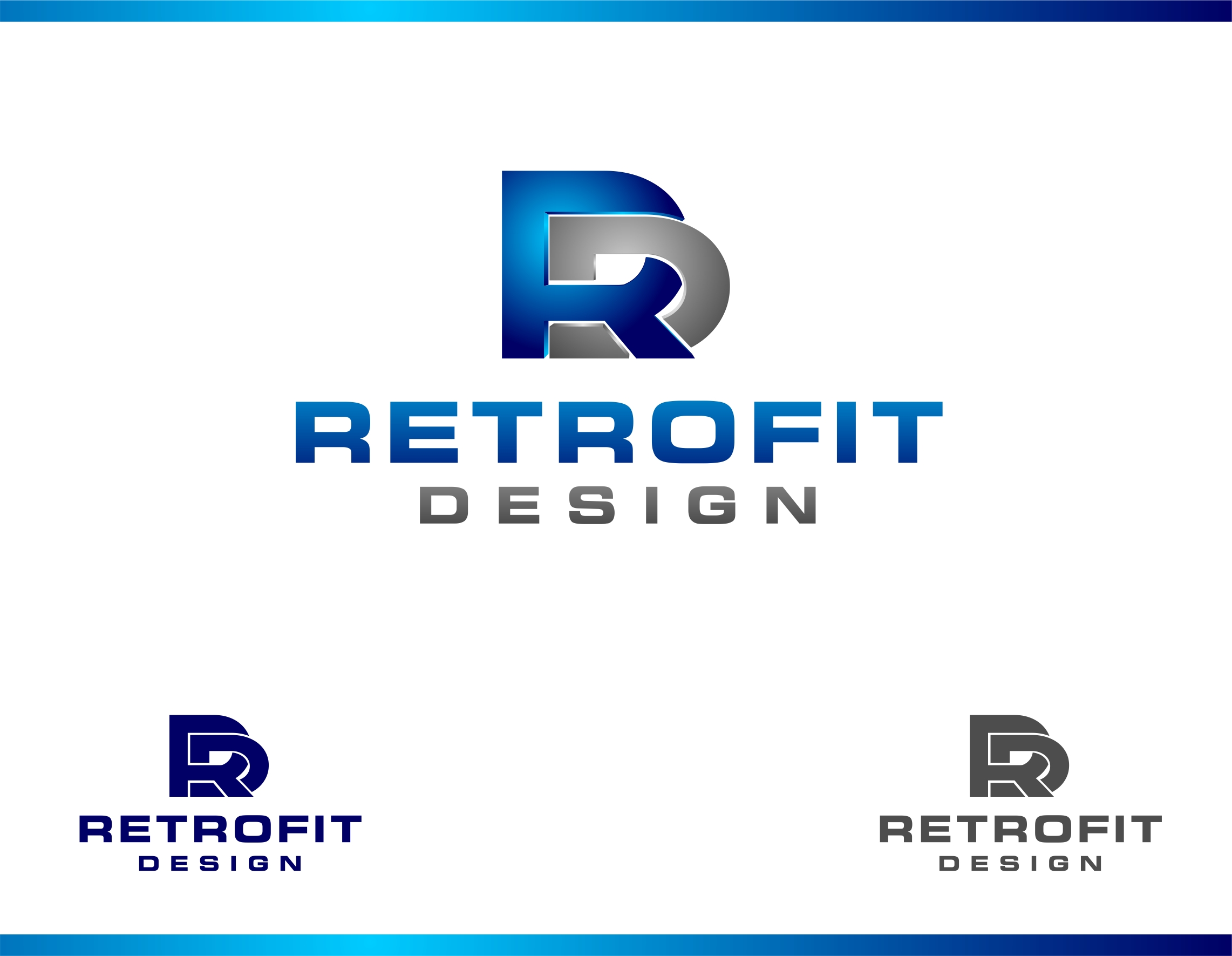 Logo Design by haidu - Entry No. 186 in the Logo Design Contest Inspiring Logo Design for retrofit design.