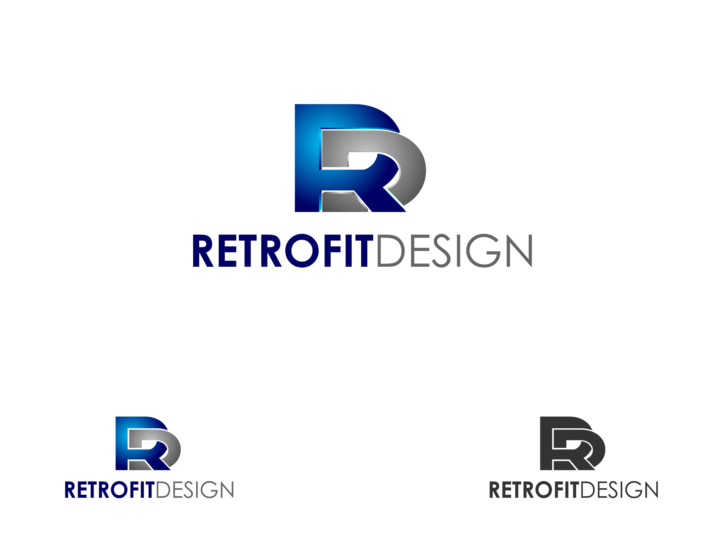 Logo Design by haidu - Entry No. 187 in the Logo Design Contest Inspiring Logo Design for retrofit design.