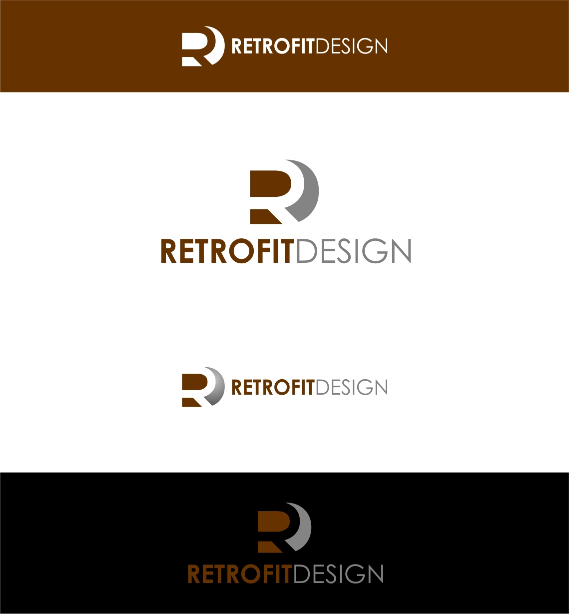 Logo Design by haidu - Entry No. 189 in the Logo Design Contest Inspiring Logo Design for retrofit design.
