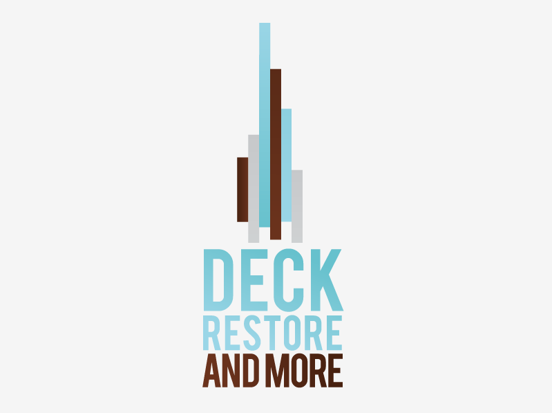 Logo Design by stu-simpson - Entry No. 36 in the Logo Design Contest Deck Restore & More.