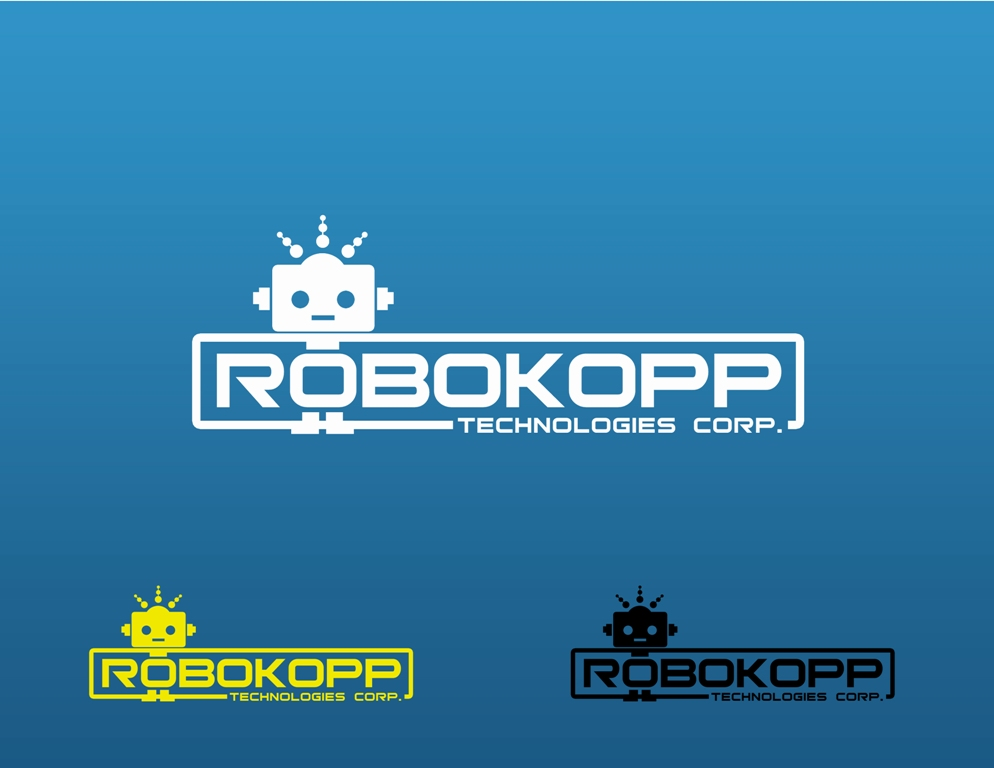 Logo Design by Juan_Kata - Entry No. 32 in the Logo Design Contest New Logo Design for Robokopp Technologies Corp..