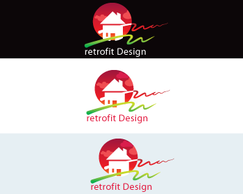 Logo Design by Nadia Khan - Entry No. 198 in the Logo Design Contest Inspiring Logo Design for retrofit design.