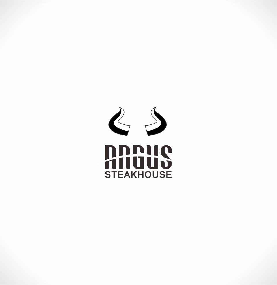 Logo Design by Mitchnick Sunardi - Entry No. 88 in the Logo Design Contest Imaginative Custom Design for Angus Steakhouse.