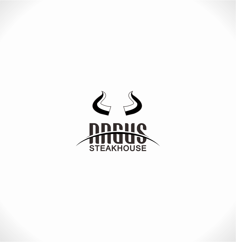 Logo Design by Mitchnick Sunardi - Entry No. 89 in the Logo Design Contest Imaginative Custom Design for Angus Steakhouse.