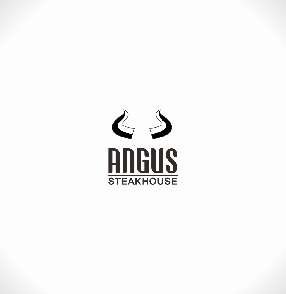 Logo Design by Mitchnick Sunardi - Entry No. 90 in the Logo Design Contest Imaginative Custom Design for Angus Steakhouse.