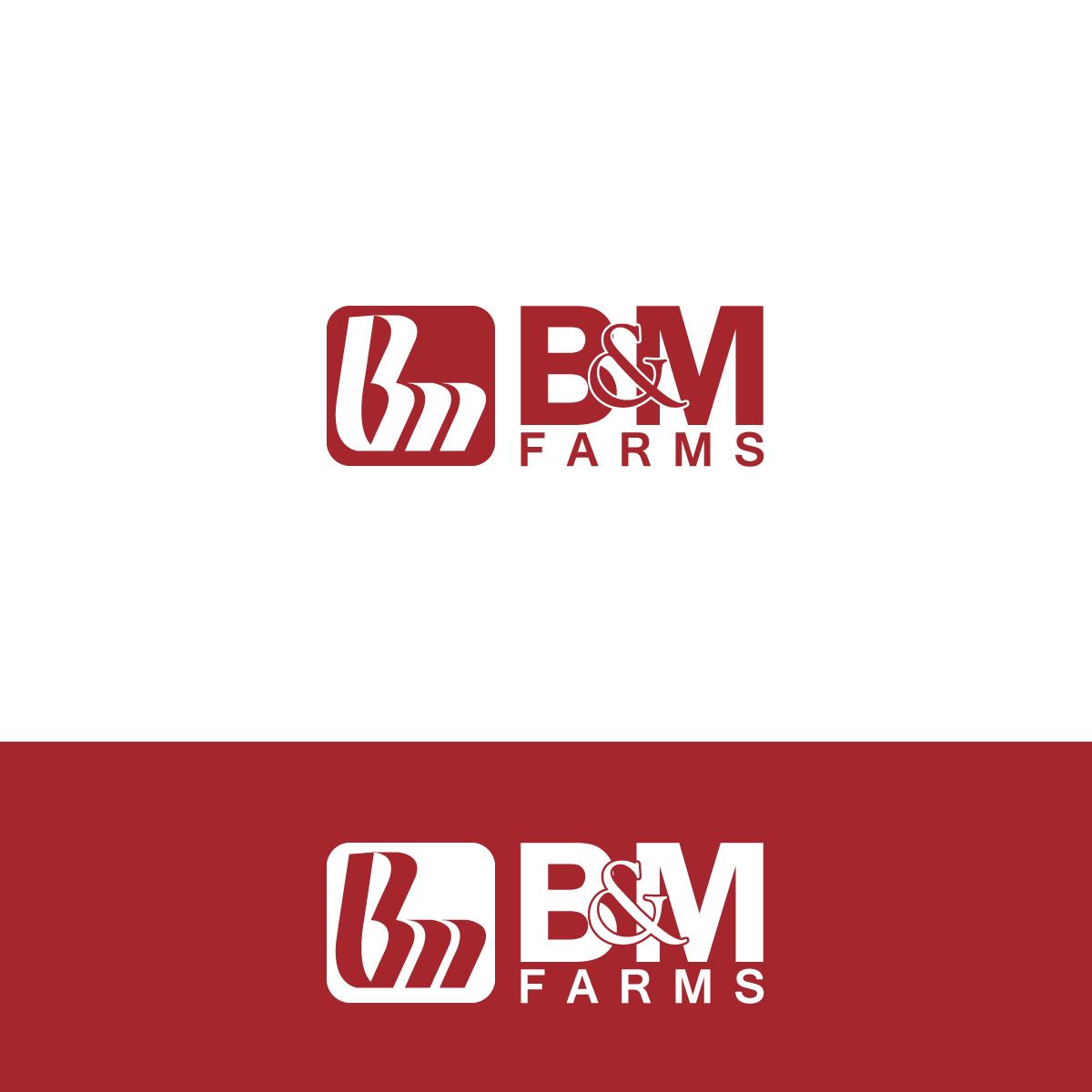 Logo Design by rockin - Entry No. 4 in the Logo Design Contest Creative Logo Design for B & M Farms, LLC.