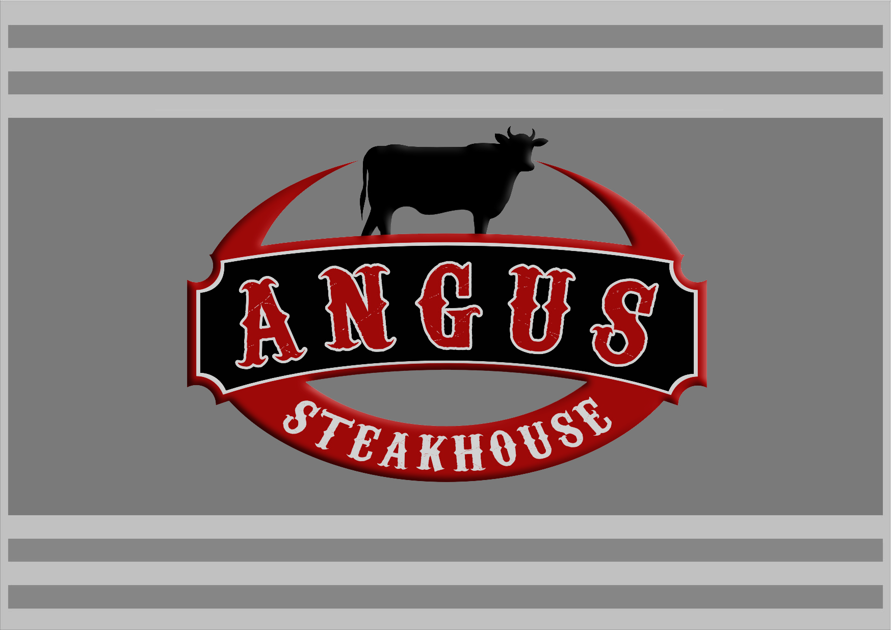 Logo Design by RasYa Muhammad Athaya - Entry No. 104 in the Logo Design Contest Imaginative Custom Design for Angus Steakhouse.