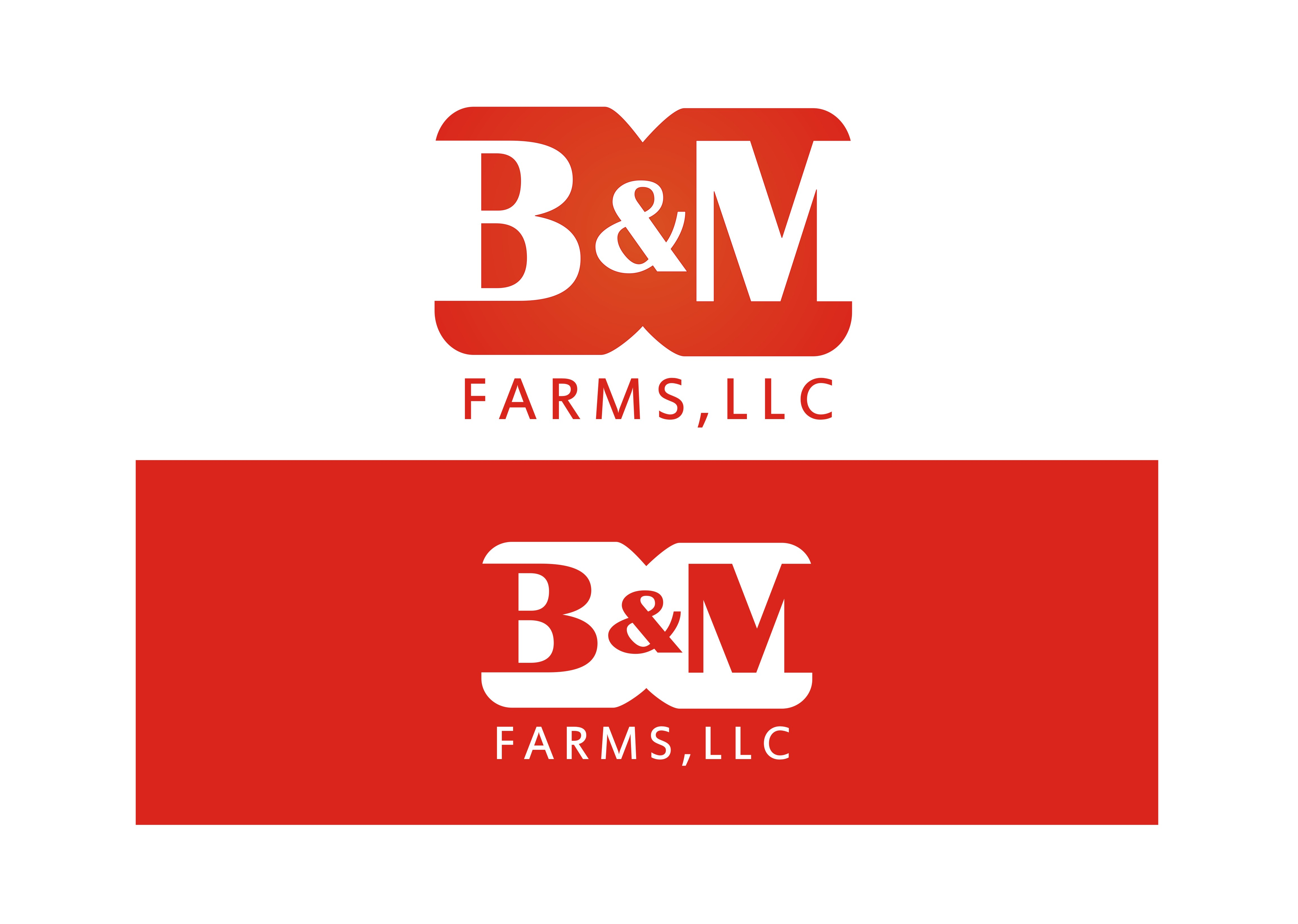 Logo Design by Arsyada Muhammad - Entry No. 10 in the Logo Design Contest Creative Logo Design for B & M Farms, LLC.