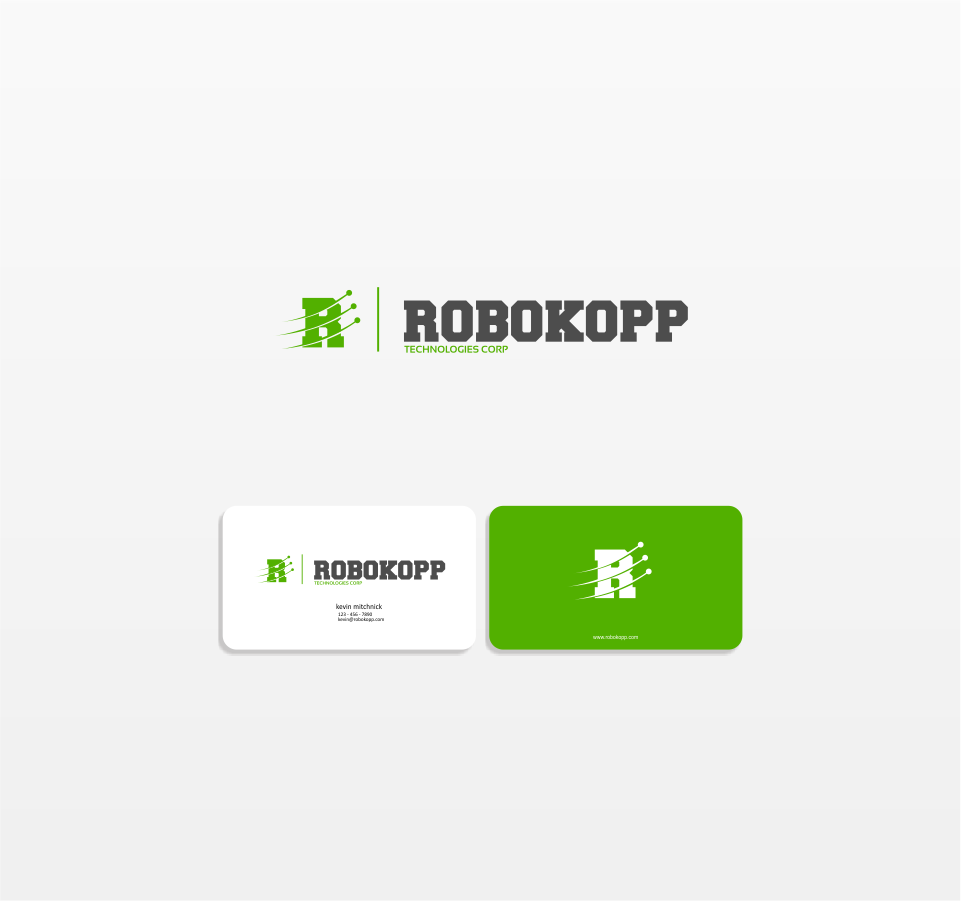 Logo Design by Mitchnick Sunardi - Entry No. 45 in the Logo Design Contest New Logo Design for Robokopp Technologies Corp..