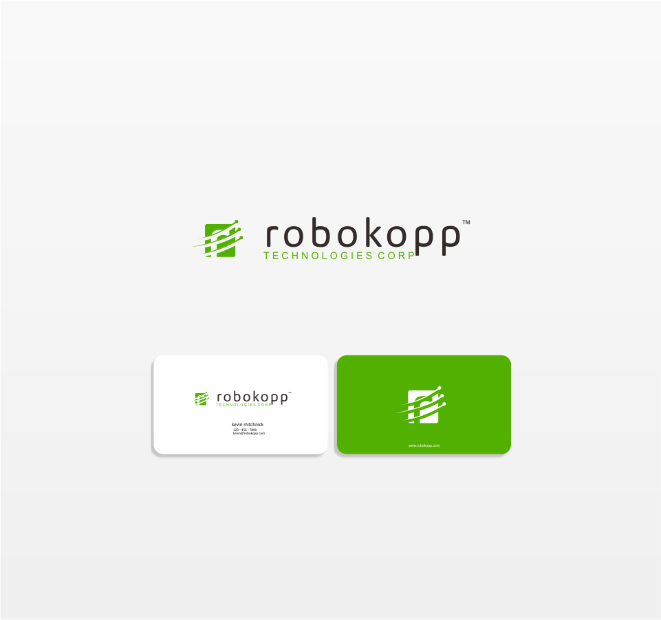 Logo Design by Mitchnick Sunardi - Entry No. 46 in the Logo Design Contest New Logo Design for Robokopp Technologies Corp..