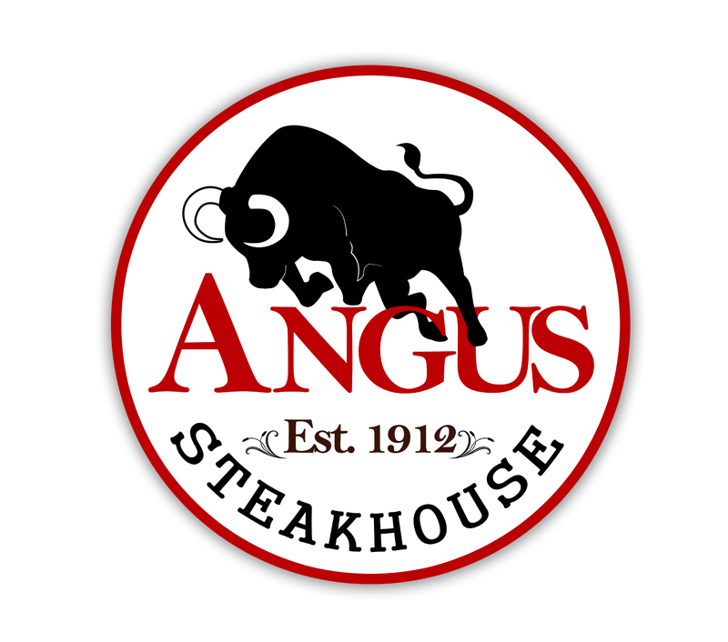 Logo Design by Private User - Entry No. 120 in the Logo Design Contest Imaginative Custom Design for Angus Steakhouse.