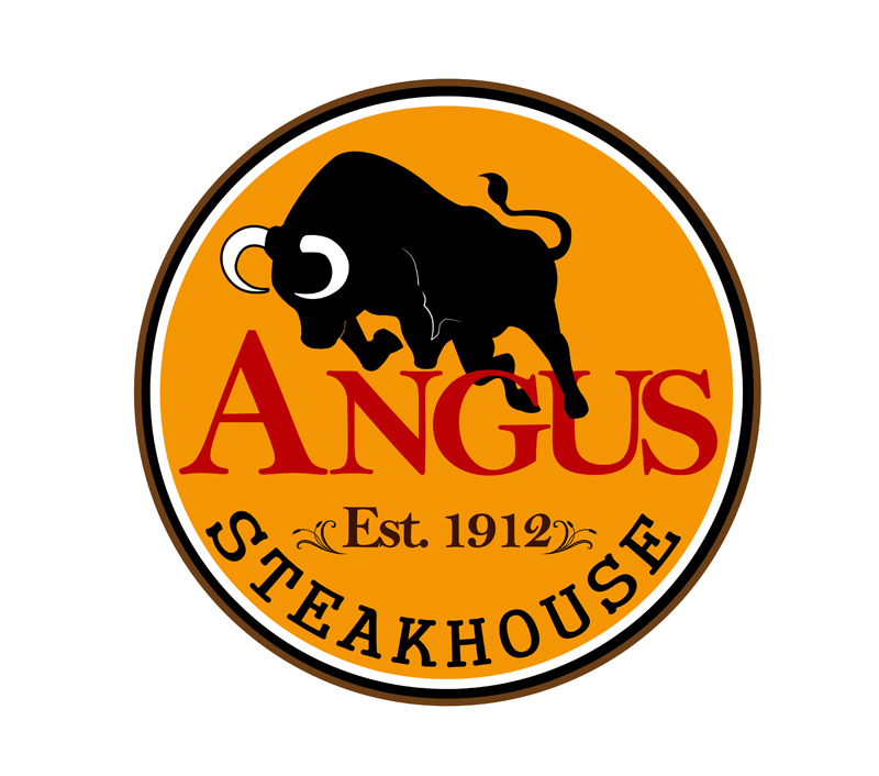 Logo Design by Private User - Entry No. 121 in the Logo Design Contest Imaginative Custom Design for Angus Steakhouse.