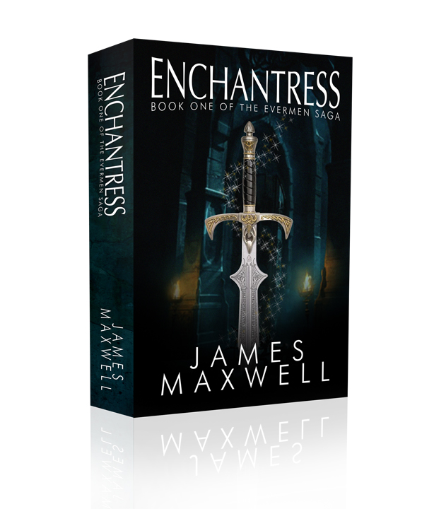 Book Cover Design by moidgreat - Entry No. 15 in the Book Cover Design Contest Book Cover Design for Epic Fantasy Novel: Enchantress.