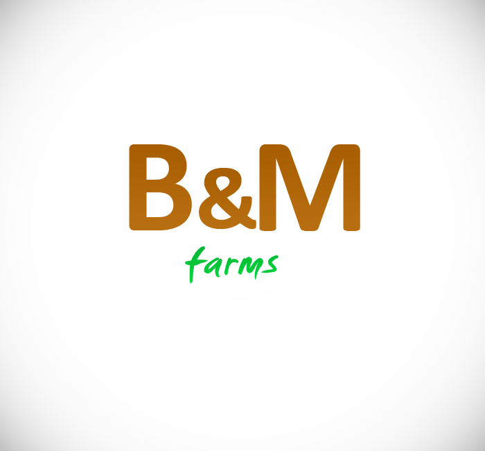 Logo Design by Bobby Yoga P - Entry No. 13 in the Logo Design Contest Creative Logo Design for B & M Farms, LLC.