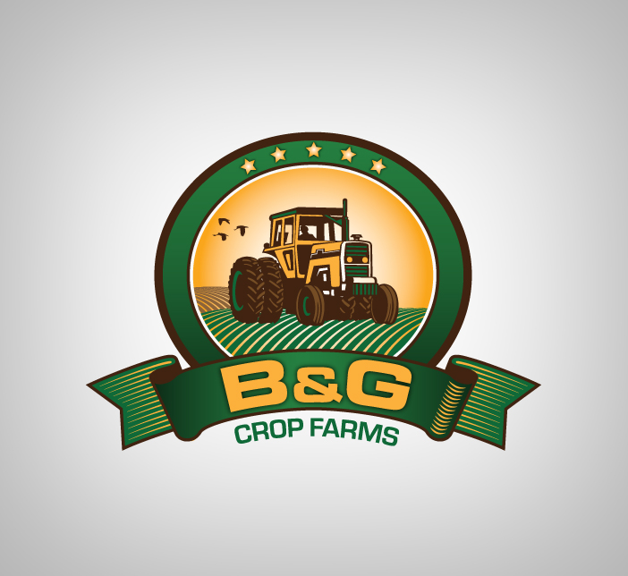 Logo Design by nausigeo - Entry No. 8 in the Logo Design Contest Artistic Logo Design for B & G Crop Farms.