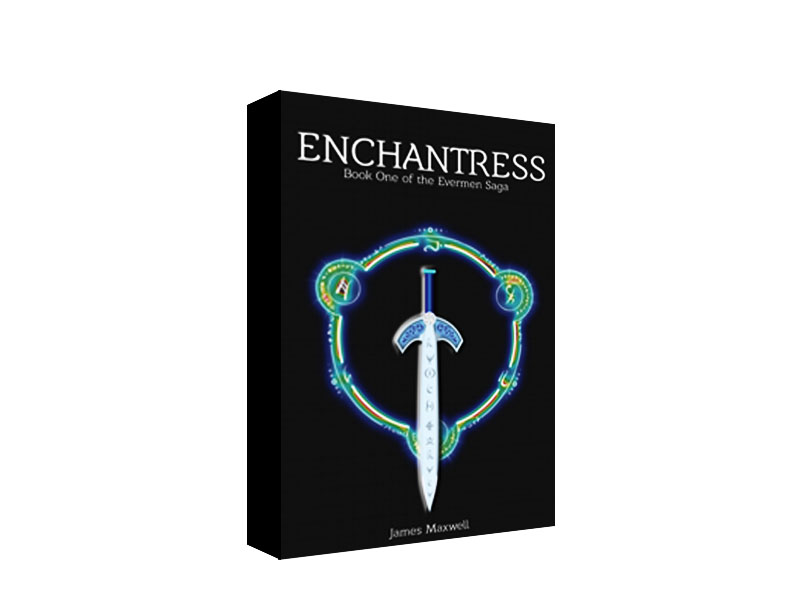 Book Cover Design by Mythos Designs - Entry No. 25 in the Book Cover Design Contest Book Cover Design for Epic Fantasy Novel: Enchantress.